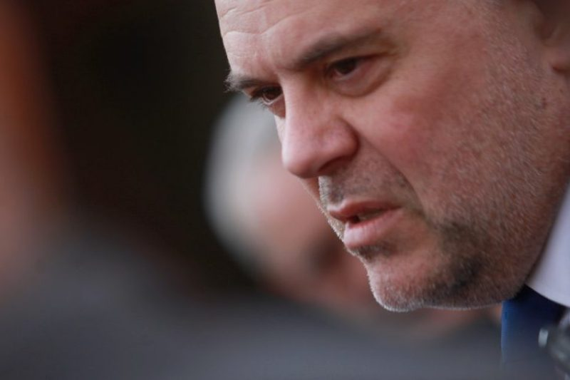 Гешев: Васил Божков е задържан
