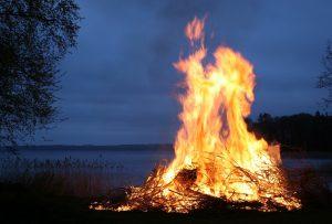 Огромен пожар изпепели декари край Хасково