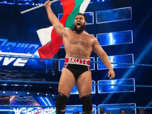 Русев накара американците да запеят българския химн на ринга на WWE!