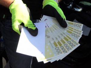 Конфискуваха над 120 хил. евро фалшиви пари