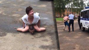Пиян си намери майстора: Опита да ограби рускиня, тя го преби (ВИДЕО)