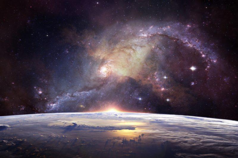 """Телескоп на НАСА засне """"зловещо лице"""" в Космоса (СНИМКА)"""
