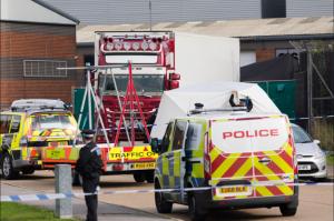 Камионът с телата във Великобритания е с българска регистрация