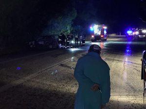 Пътник изгоря в кола, шофьорът се издирва
