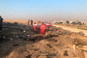 Катастрофиралият украински самолет минал техническа проверка преди два дни