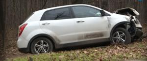 Кола излетя от пътя и се приземи в Борисовата градина (ВИДЕО)