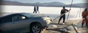 Те дойдоха за риба, но се наложи да вадят колите си от водата (ВИДЕО)