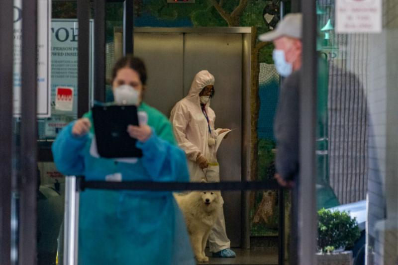 Починалата от COVID-19 българка в САЩ отказала да отиде в болница