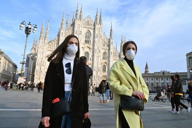 Цели семейства умират заедно в Италия