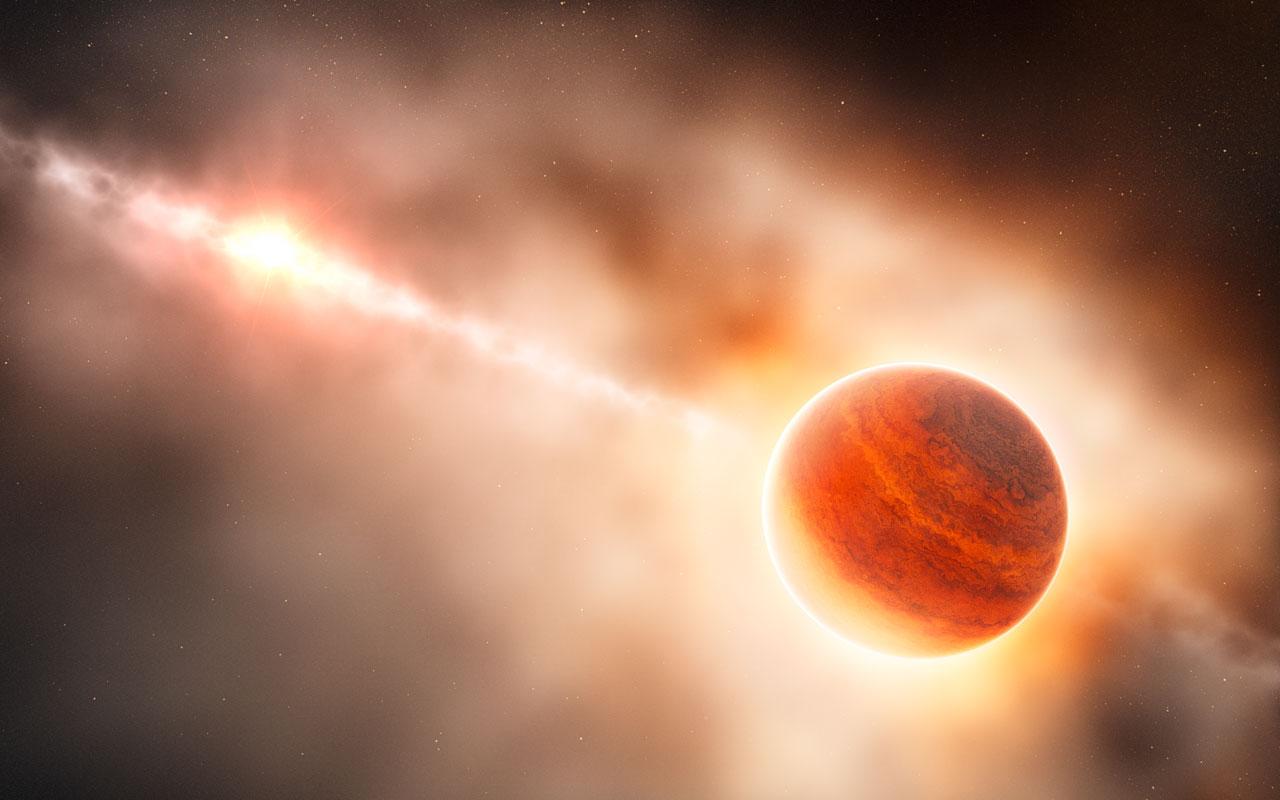 За първи път учените видяха раждането на планета