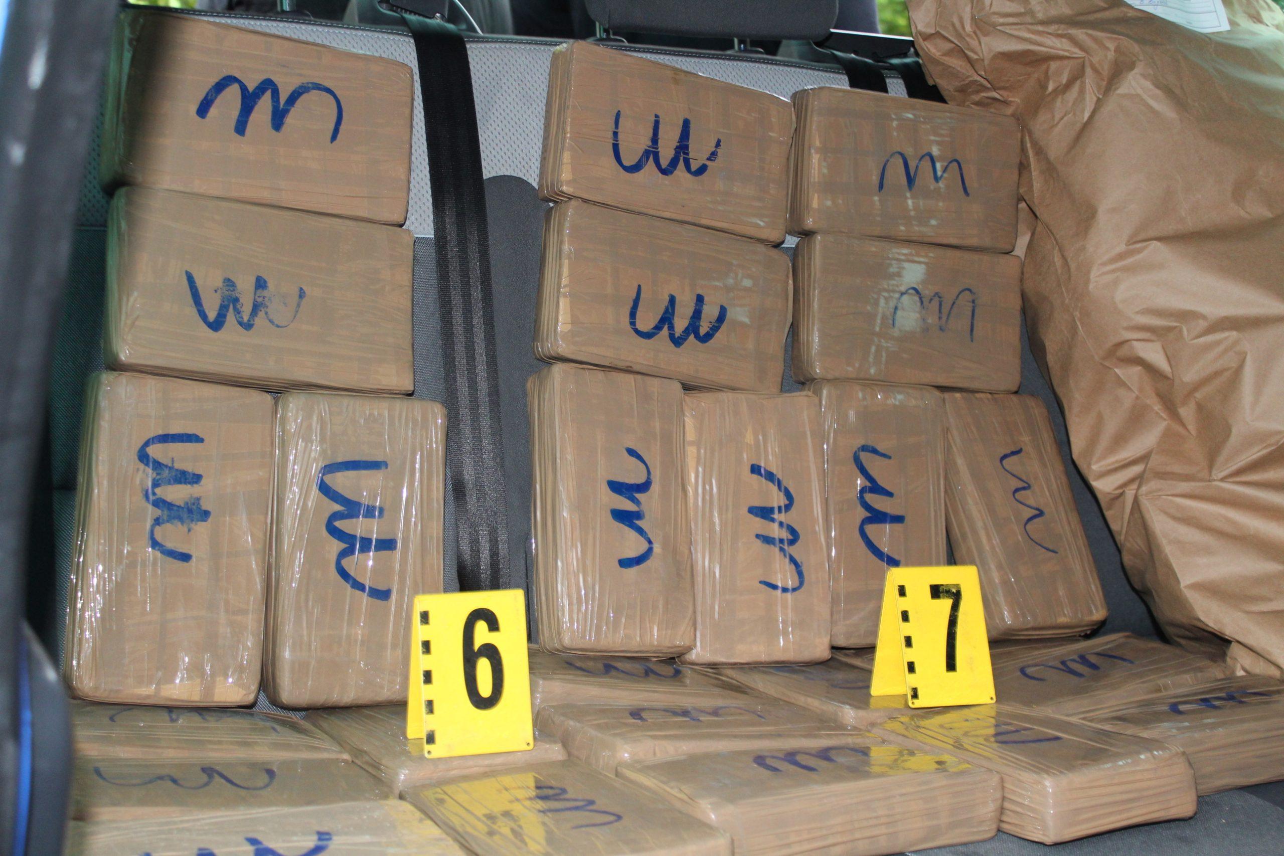 Двама буразлии опитаха да вкарат в Турция кокаин за 5 млн. лева