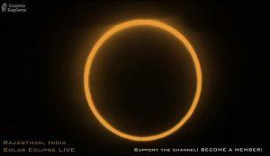 Вижте уникалните кадри от слънчевото затъмнение днес (СНИМКИ+ВИДЕО)