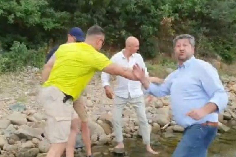 Проверяват служителите на НСО, блъскали политик на държавен плаж, затворен за частно ползване