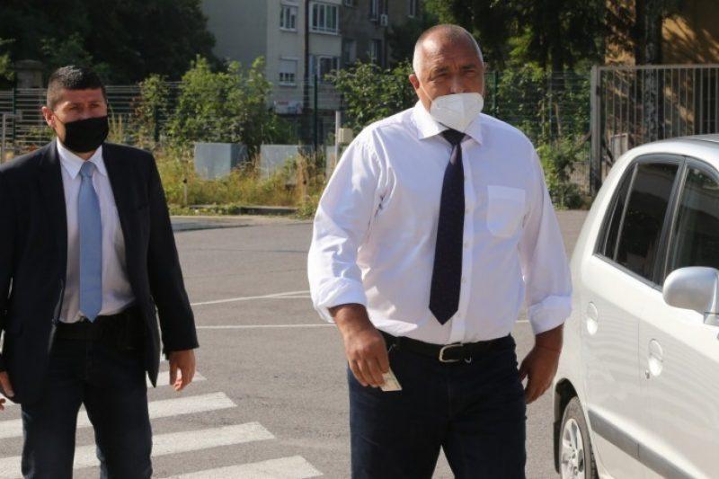 Борисов: Правят се публични събития, за да се угоди на президента Радев