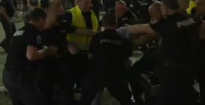 МВР разкри видео с провокаторите от протеста – вижте го