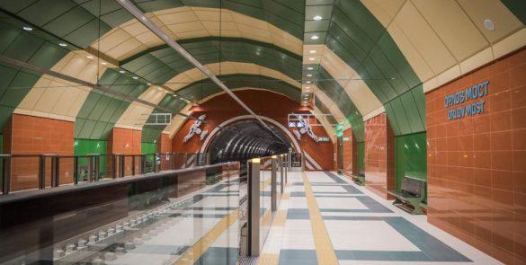 метро. лъч, София, движение, влакове