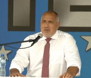 Борисов пред елита на ГЕРБ: Добре че направихме магистралите, за да могат да ги блокират