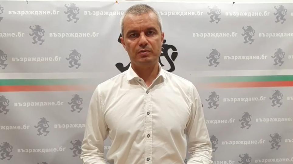 """Лидерът на """"Възраждане"""" нахлу в Съдебната палата, носи оставката на Гешев, за да я подпише (ВИДЕО)"""
