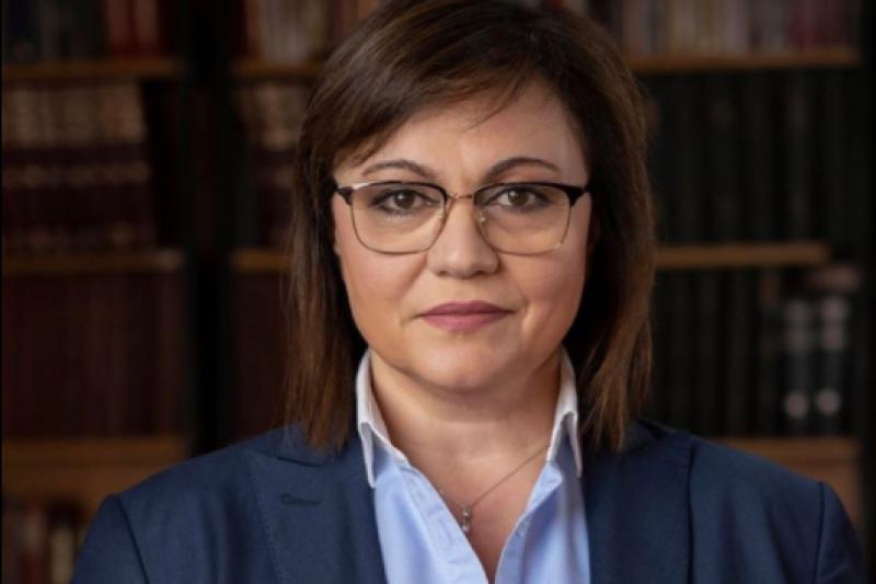 Нинова не знае защо празненството в Боровец е станало повод за раздялата на Калоян Методиев с Президенството