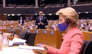 Ангел Джамбазки към Урсула фон дер Лайен: Речта Ви беше пълна с полуистини и противоречия (ВИДЕО)