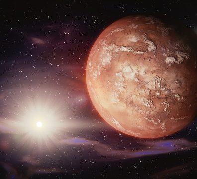 Марс, Лъв, планета, зодии, звезди, любов