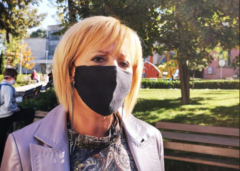 Мая Манолова съобщи кой е кандидатът на ИМВ за член на ЦИК