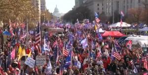 Арести, масови сбивания и насилие белязаха маршовете в подкрепа на Тръмп във Вашингтон (ВИДЕО)