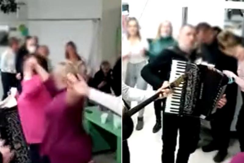 Две сестри направиха парти в COVID болница по време на пандемия (ВИДЕО)