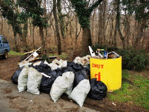 Извадиха над 2 тона боклуци от река Ропотамо (СНИМКИ)