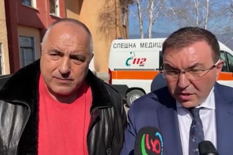 Борисов проверява как върви ваксинацията в селата, докладваха му колко са имунизирани през уикенда (ВИДЕО)