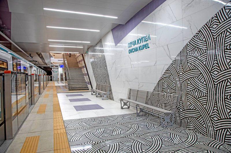 Пуснаха нова отсечка от метрото в София