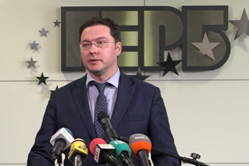 ОФИЦИАЛНО: Даниел Митов е кандидатурата на ГЕРБ за министър-председател