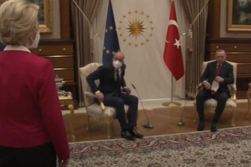 Ердоган създаде буря на върха на върха на ЕС с един стол и продължава да я подклажда
