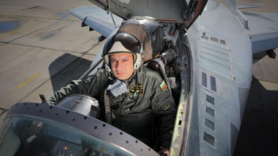 Майор Валентин Терзиев е загинал при инцидента с МиГ-29