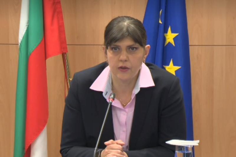 Лаура Кьовеши: Няма да се намесваме в работата на прокурорските власти в България