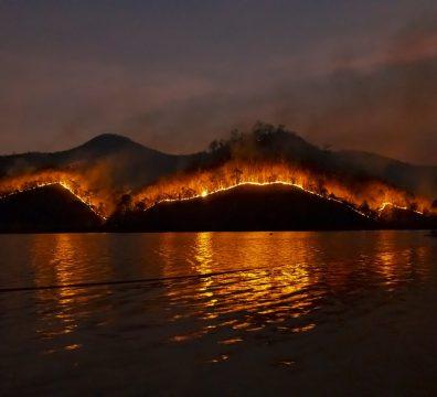 Сардиния, пожар, остров, евакуация, Италия