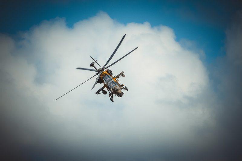 Военен хеликоптер с българи на борда се разби в Африка